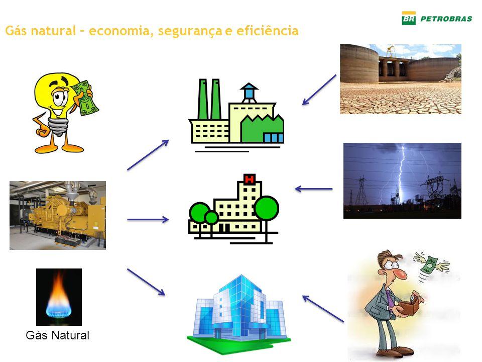 Gás natural – economia, segurança e eficiência