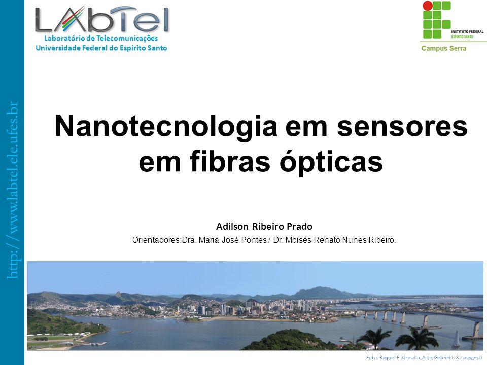 Nanotecnologia em sensores em fibras ópticas