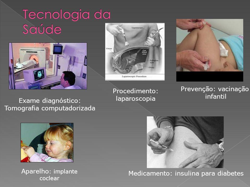 Tecnologia da Saúde Prevenção: vacinação Procedimento: infantil