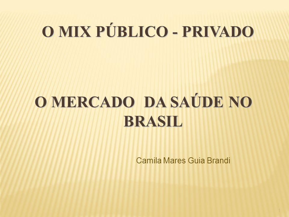O MERCADO DA SAÚDE NO BRASIL