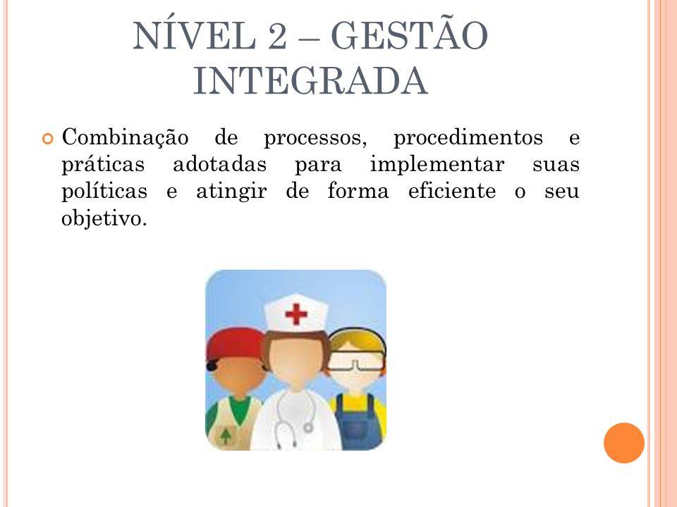 NÍVEL 2 – GESTÃO INTEGRADA