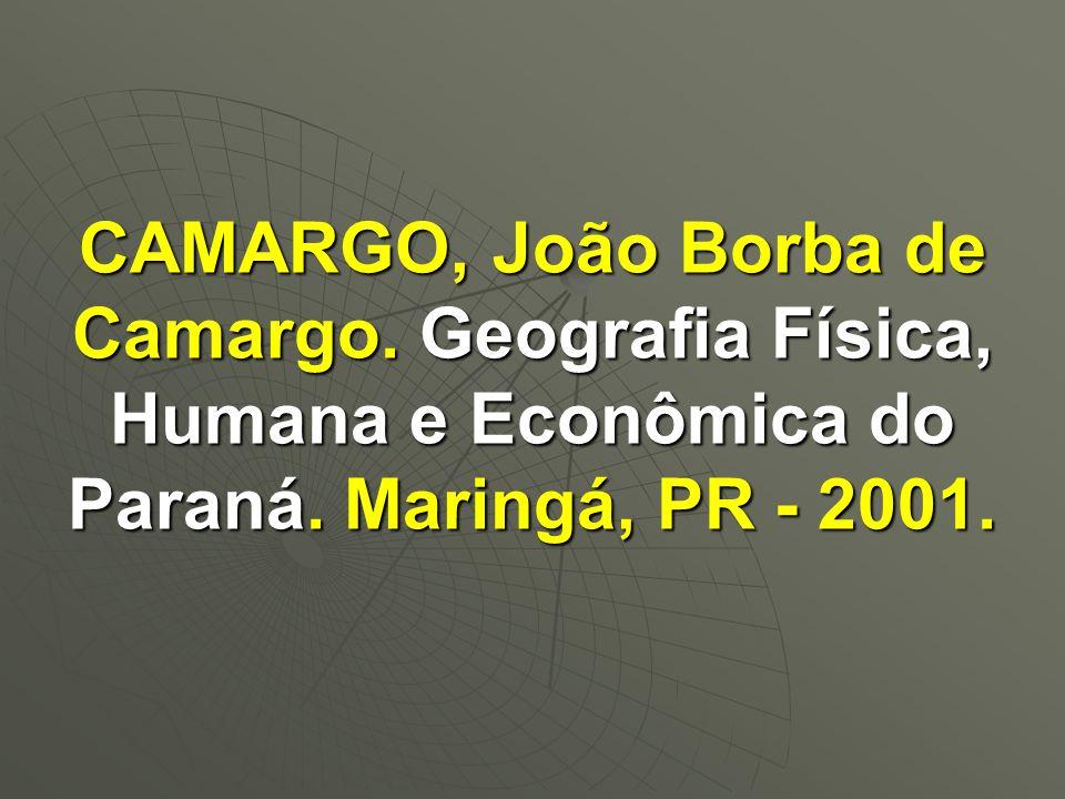 CAMARGO, João Borba de Camargo