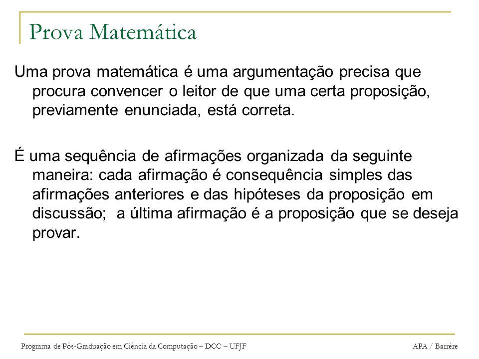 Prova Matemática
