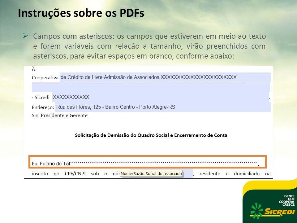 Instruções sobre os PDFs