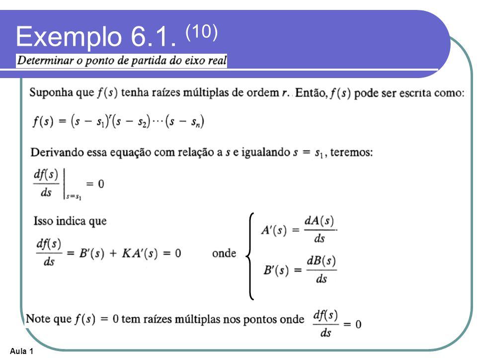 Exemplo 6.1. (10)