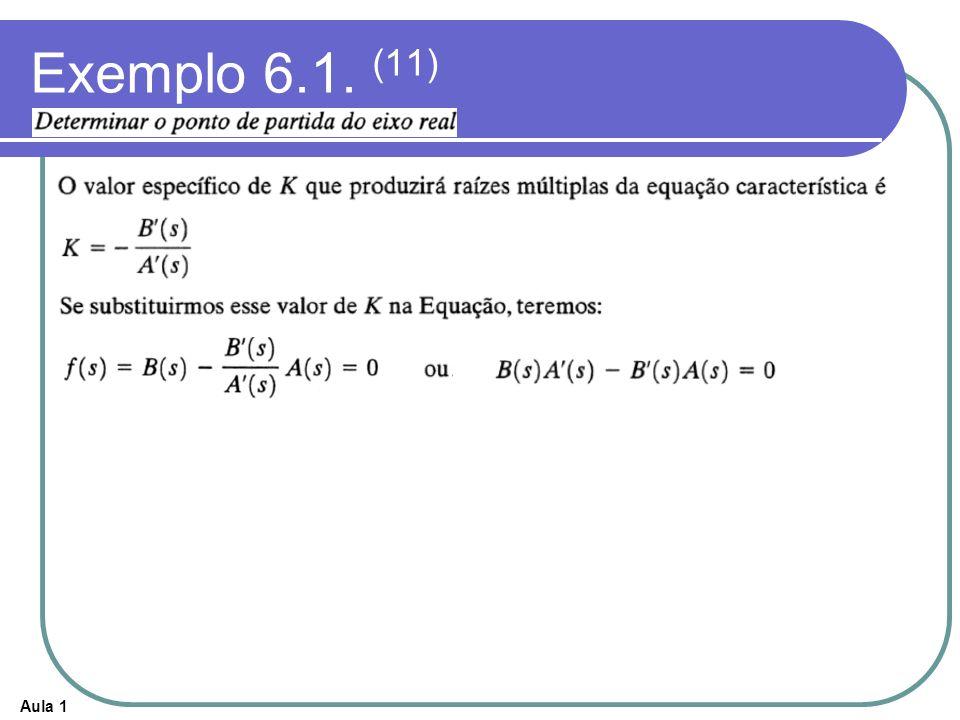 Exemplo 6.1. (11)