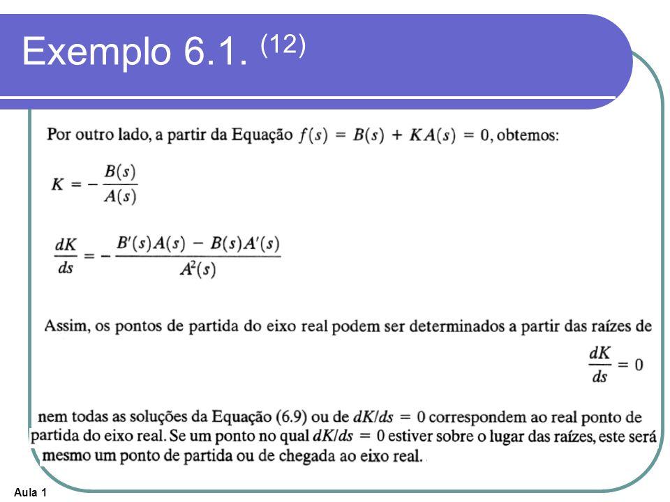Exemplo 6.1. (12)