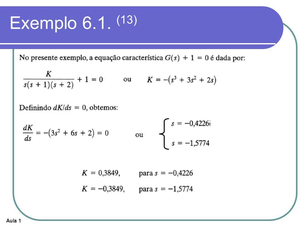Exemplo 6.1. (13)