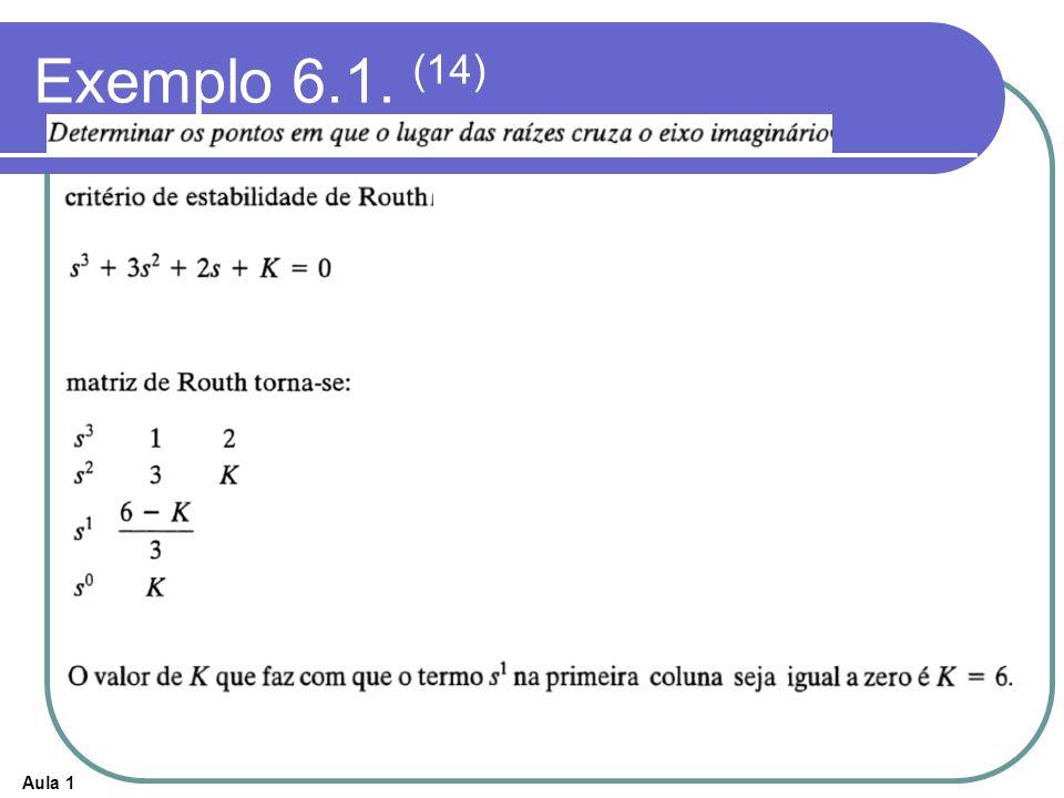 Exemplo 6.1. (14)