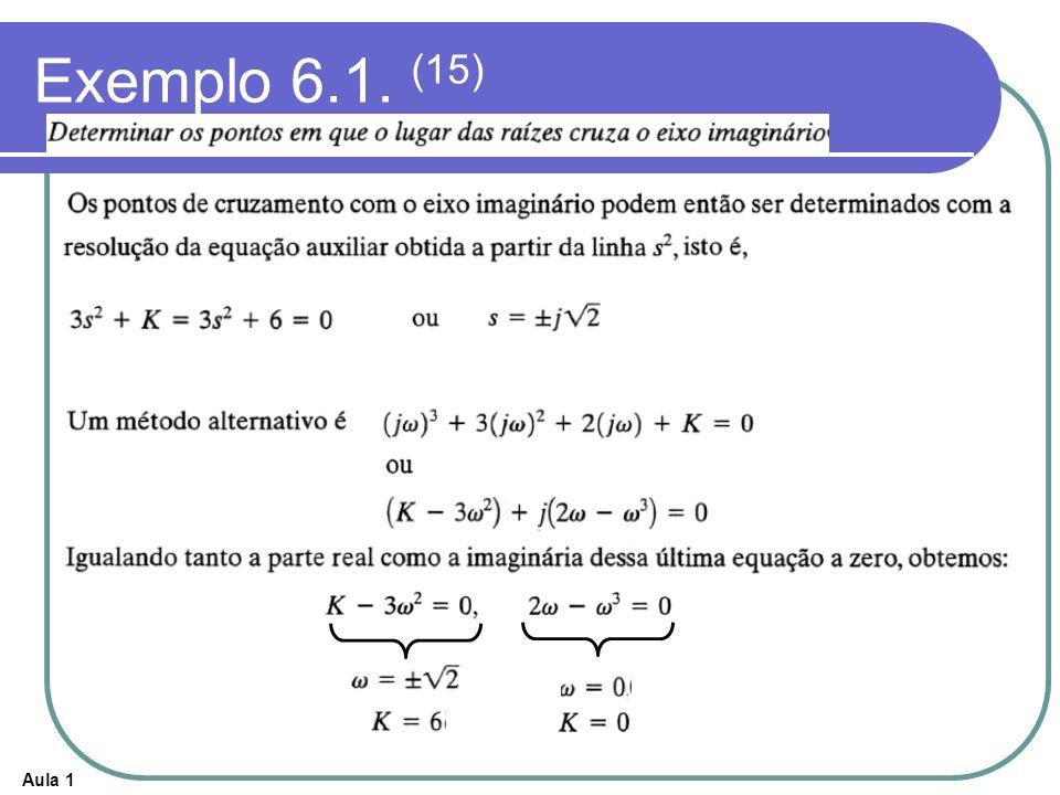 Exemplo 6.1. (15)
