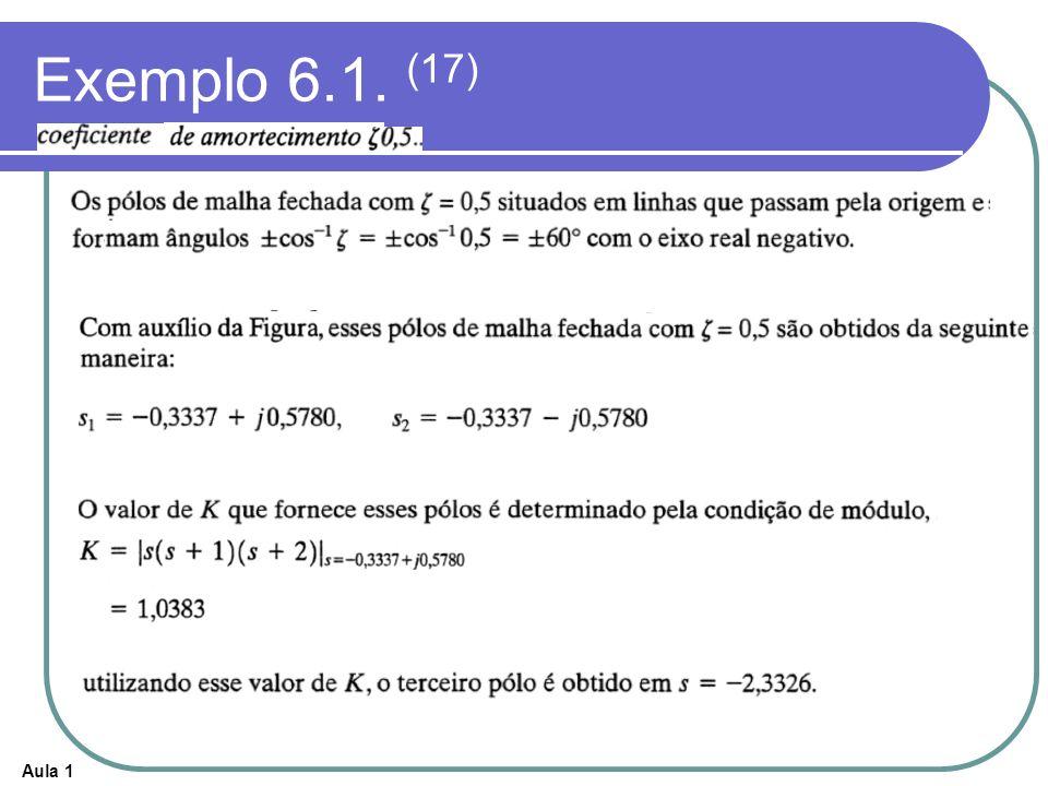 Exemplo 6.1. (17)