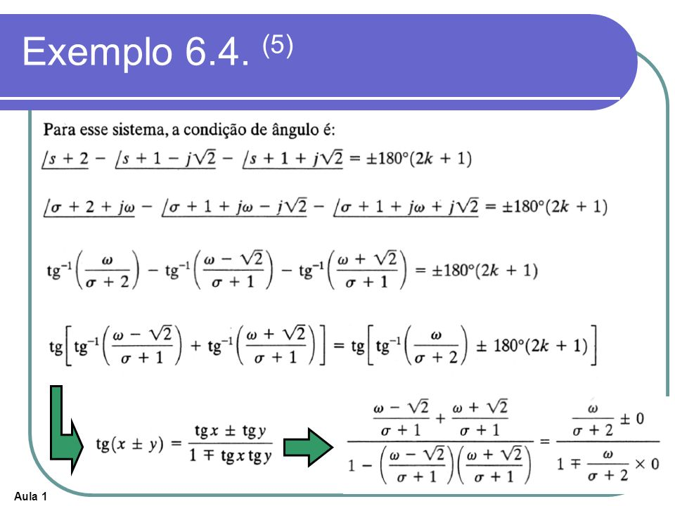 Exemplo 6.4. (5)