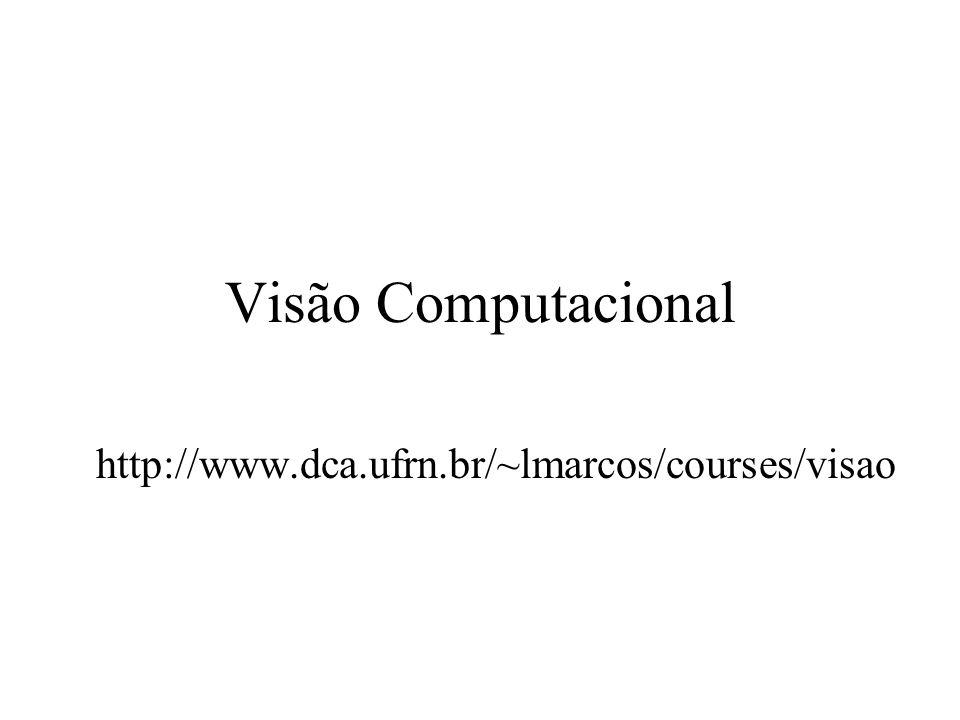Visão Computacional http://www.dca.ufrn.br/~lmarcos/courses/visao