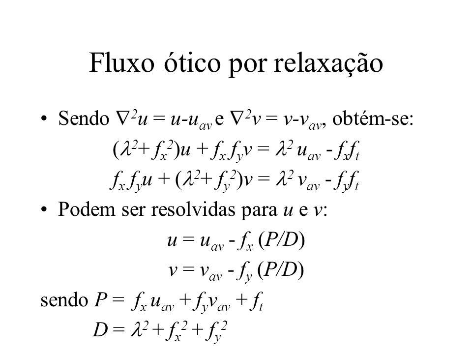 Fluxo ótico por relaxação