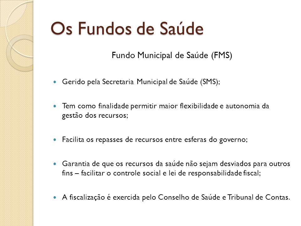 Fundo Municipal de Saúde (FMS)