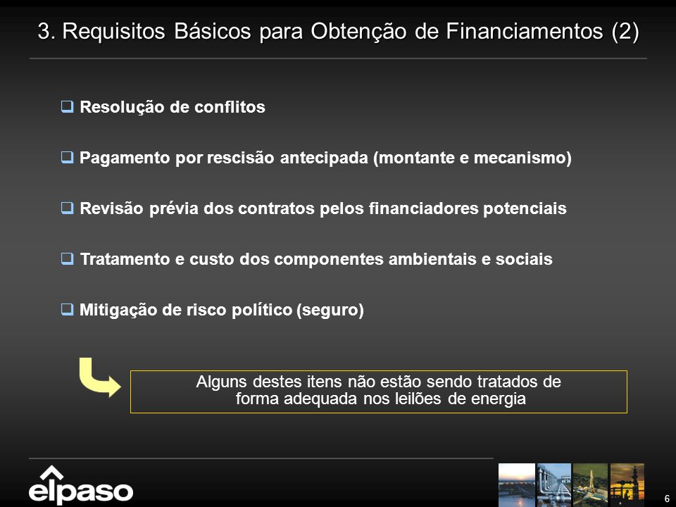 3. Requisitos Básicos para Obtenção de Financiamentos (2)