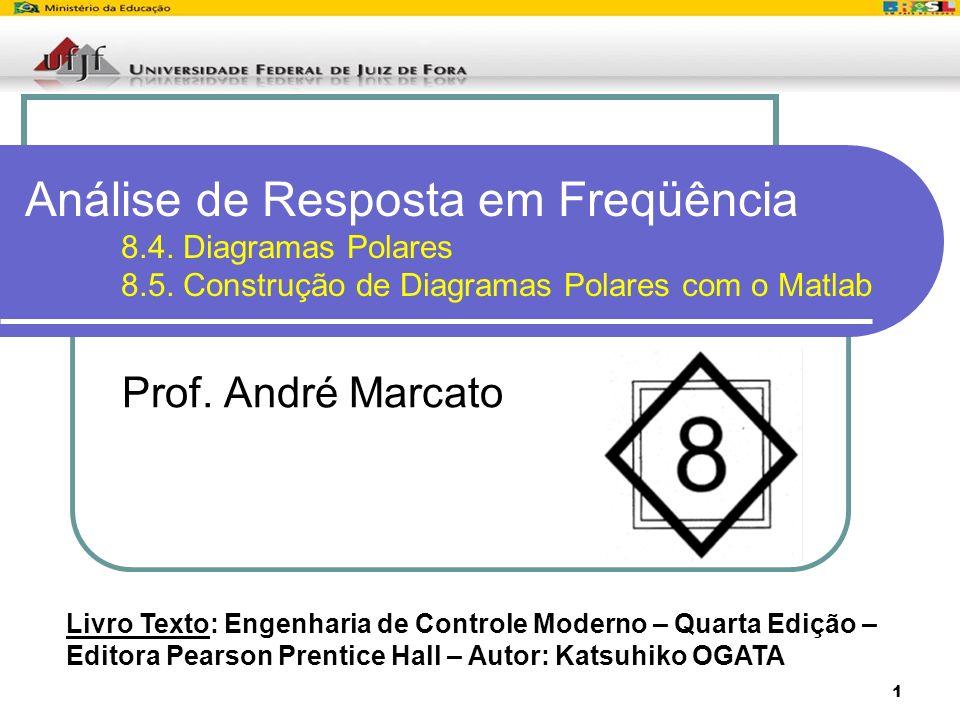Análise de Resposta em Freqüência. 8. 4. Diagramas Polares. 8. 5