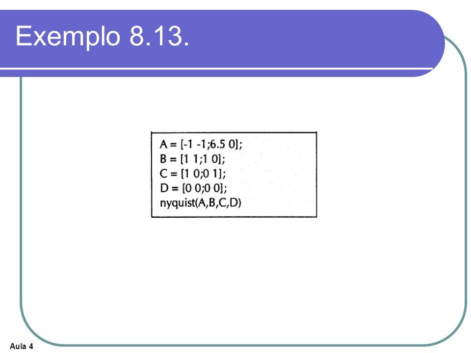 Exemplo 8.13.