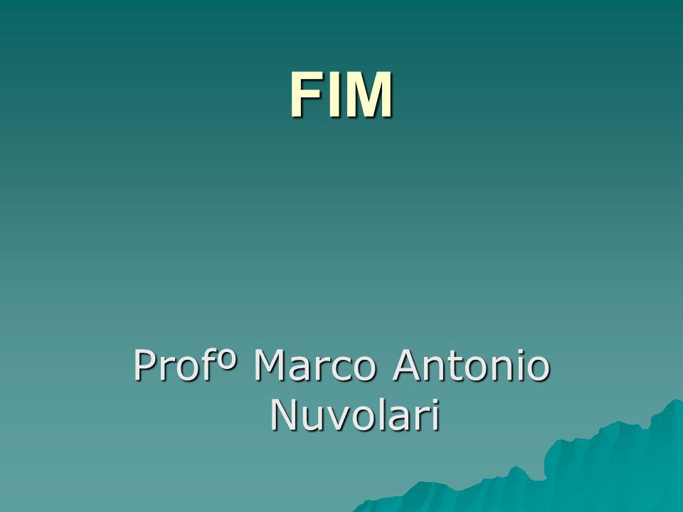 Profº Marco Antonio Nuvolari
