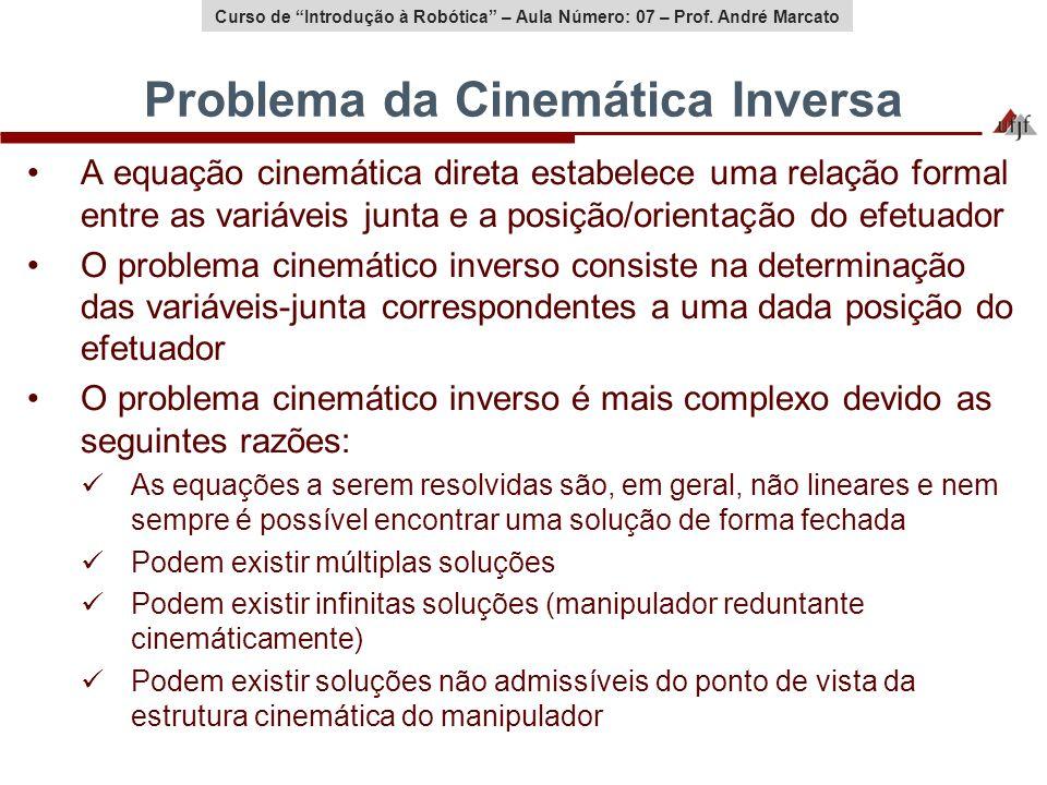 Problema da Cinemática Inversa