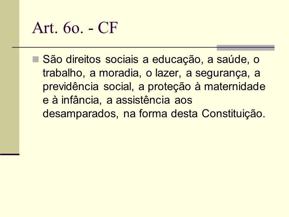 Art. 6o. - CF