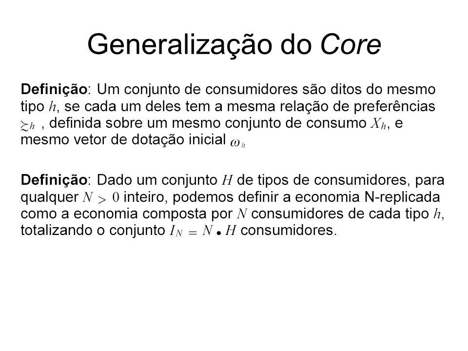 Generalização do Core