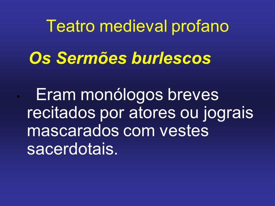 Teatro medieval profano