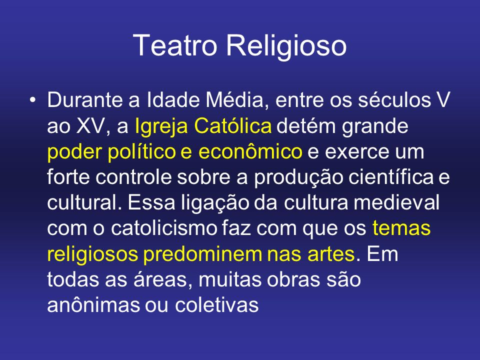 Teatro Religioso