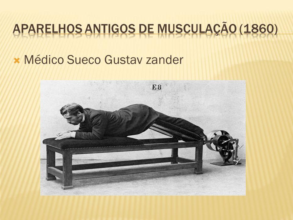 Aparelhos antigos de musculação (1860)