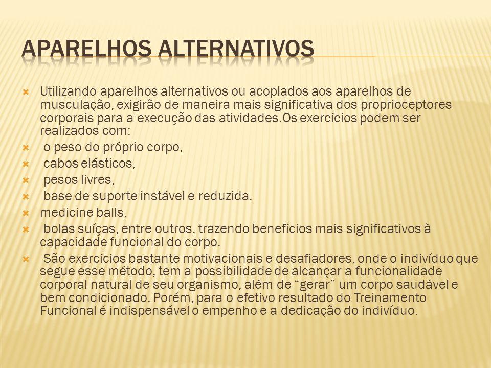Aparelhos alternativos