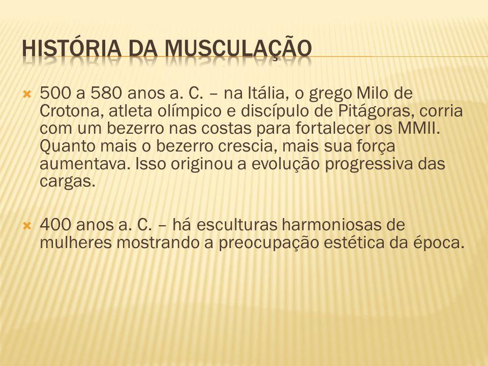 HISTÓRIA DA MUSCULAÇÃO