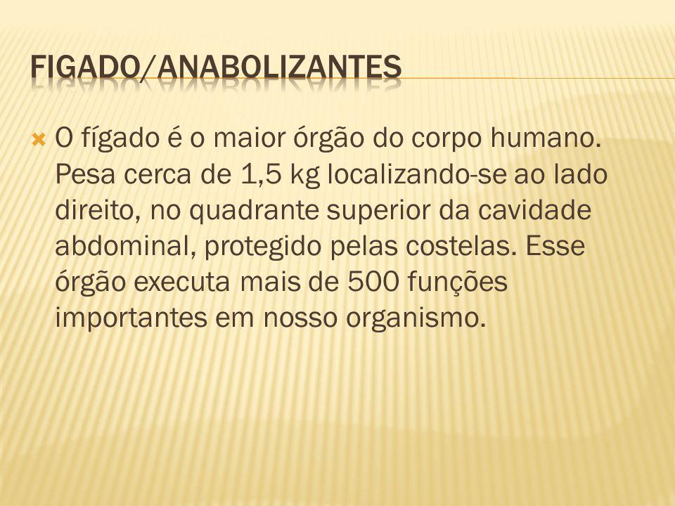 Figado/anabolizantes