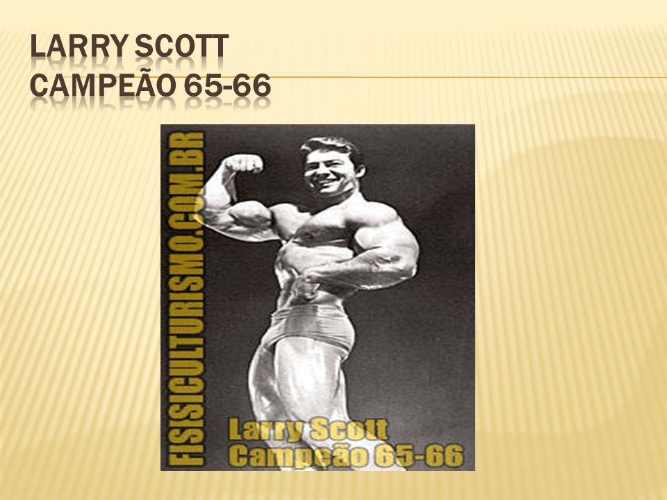 Larry Scott Campeão 65-66