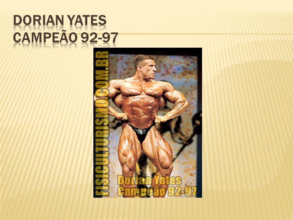 Dorian Yates Campeão 92-97