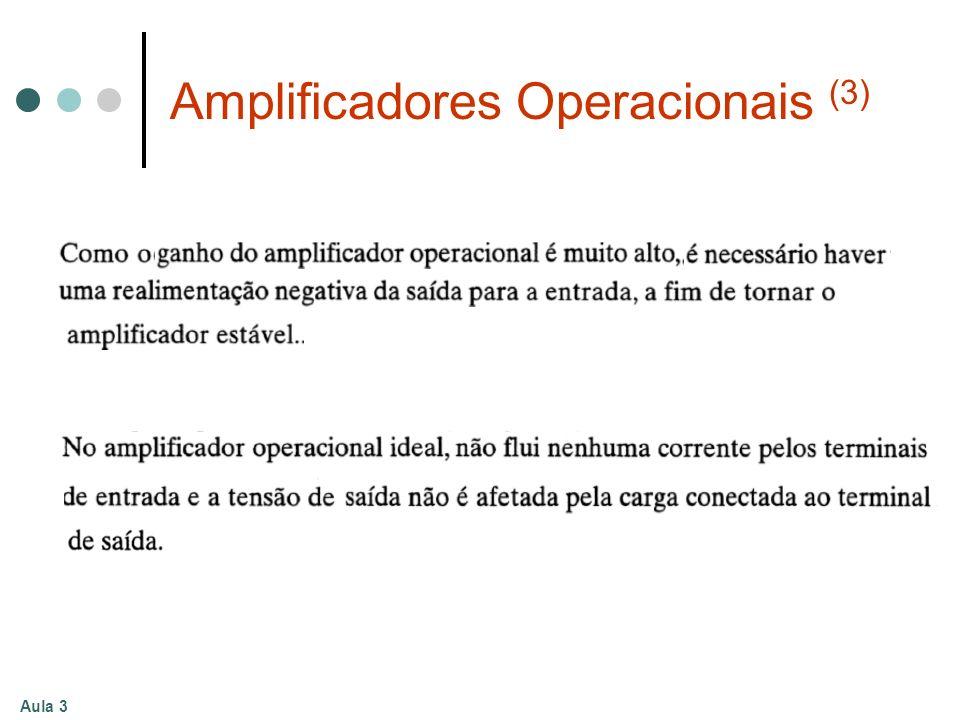 Amplificadores Operacionais (3)