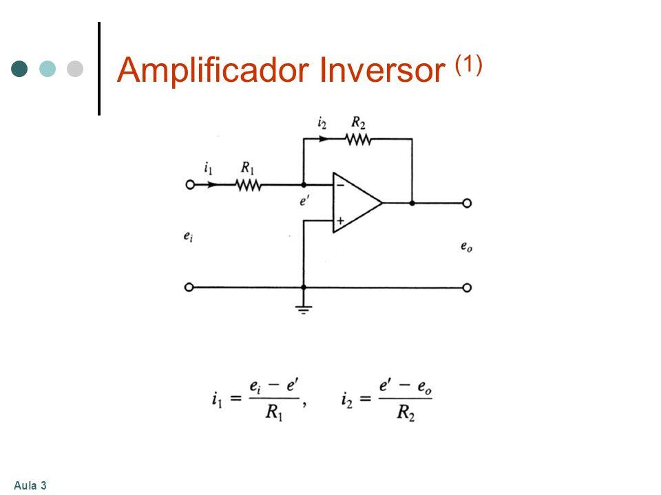 Amplificador Inversor (1)