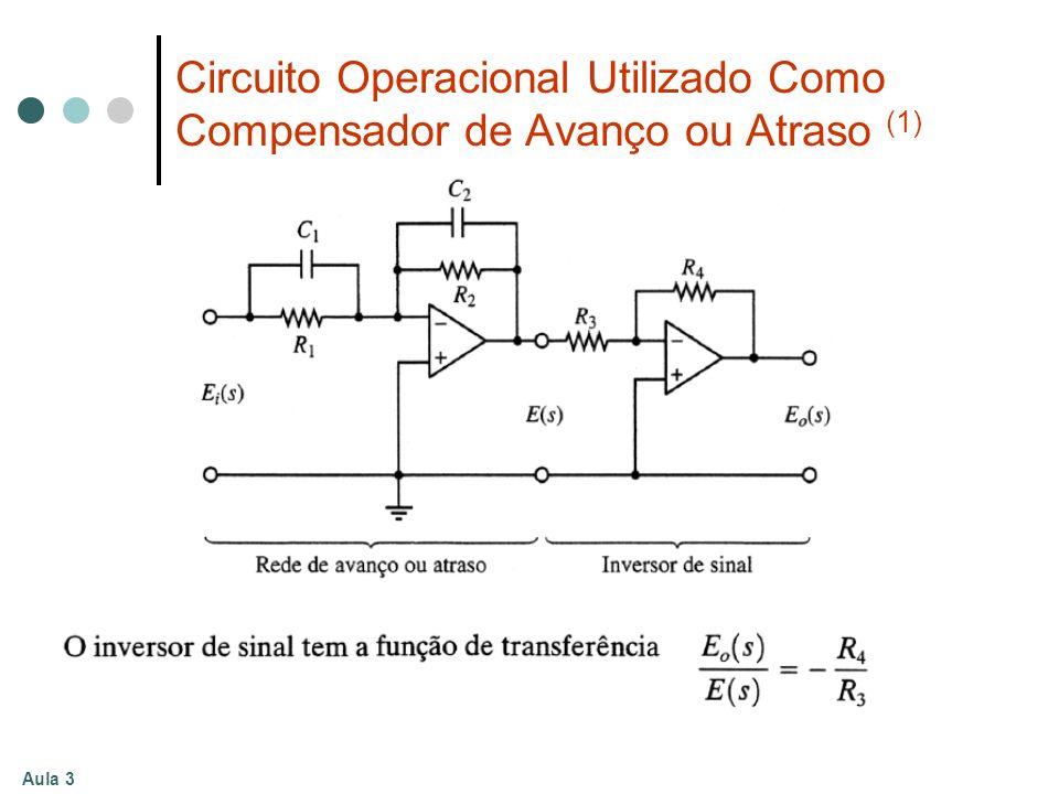 Circuito Operacional Utilizado Como Compensador de Avanço ou Atraso (1)