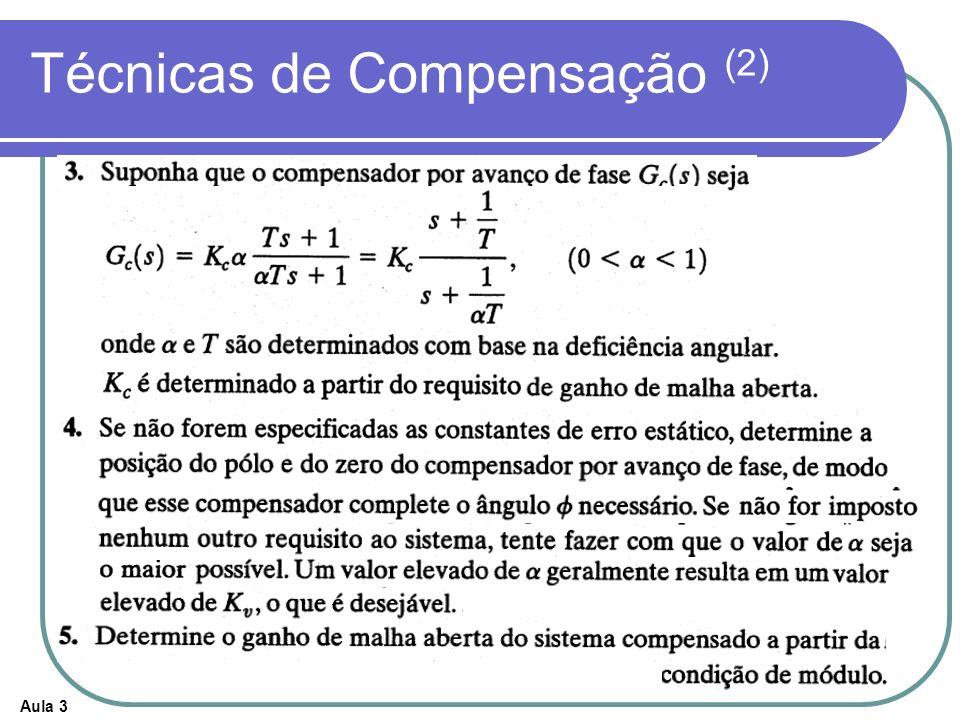 Técnicas de Compensação (2)