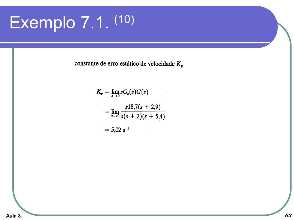 Exemplo 7.1. (10)