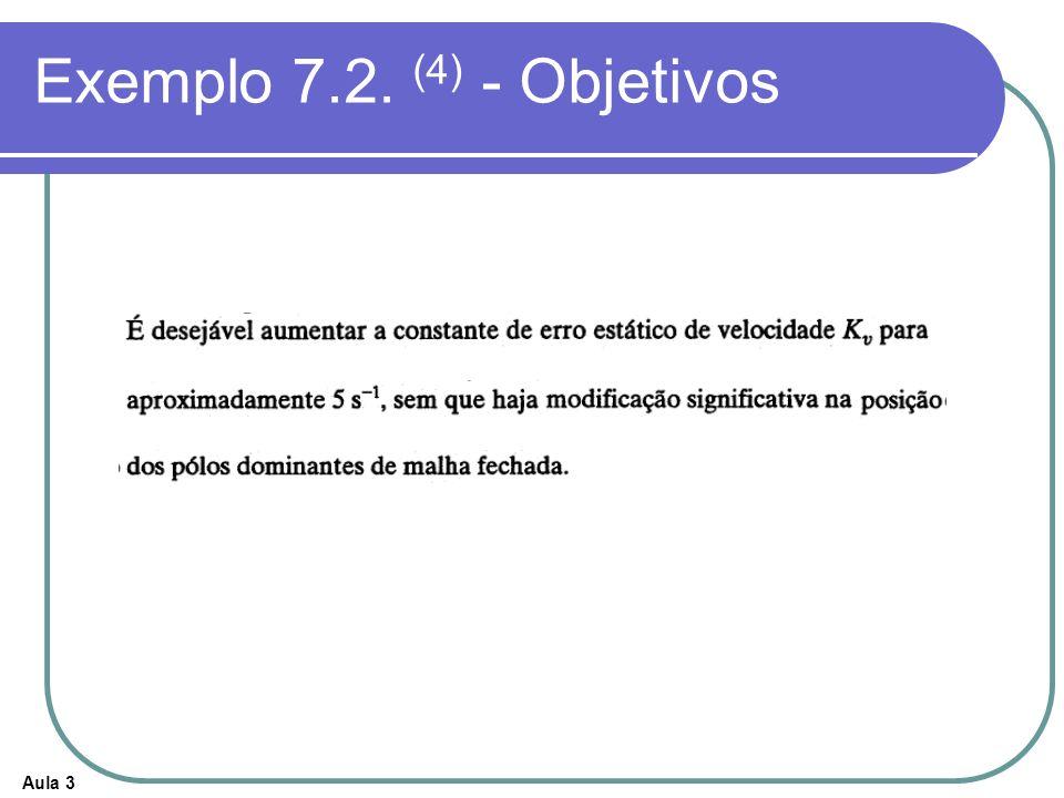 Exemplo 7.2. (4) - Objetivos