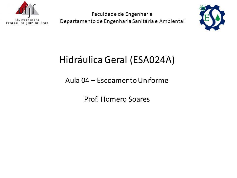 Hidráulica Geral (ESA024A)