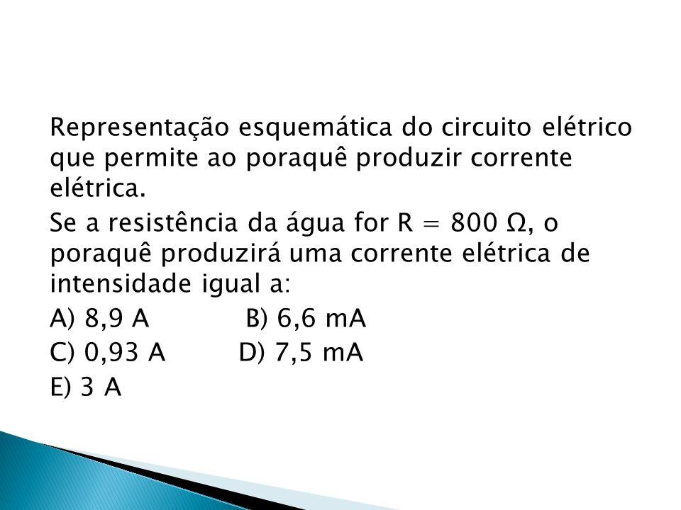 Representação esquemática do circuito elétrico que permite ao poraquê produzir corrente elétrica.