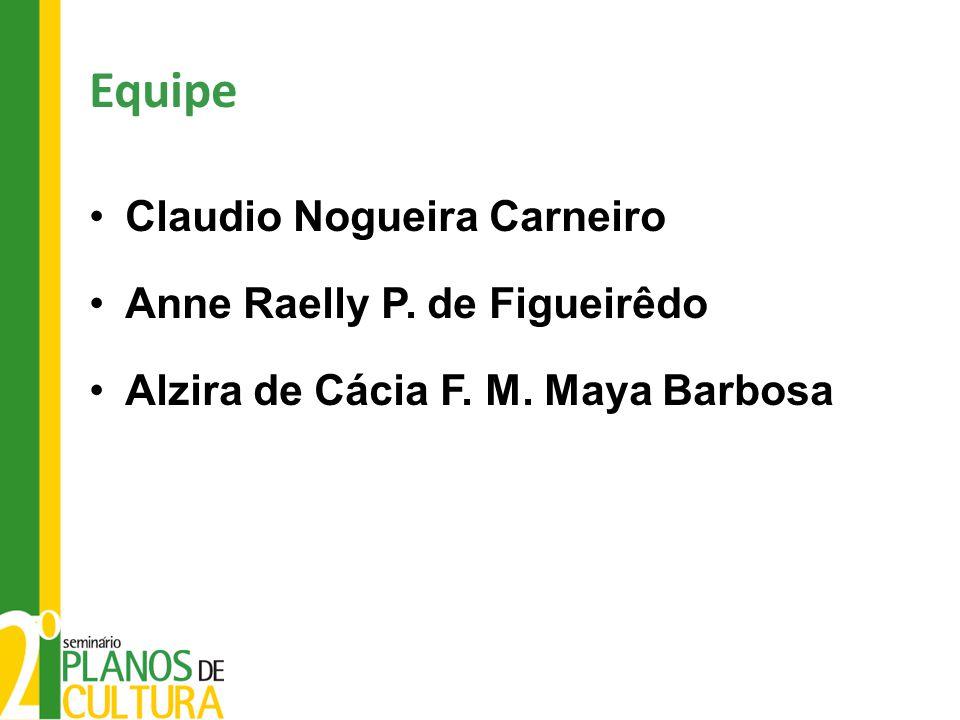 Equipe Claudio Nogueira Carneiro Anne Raelly P. de Figueirêdo
