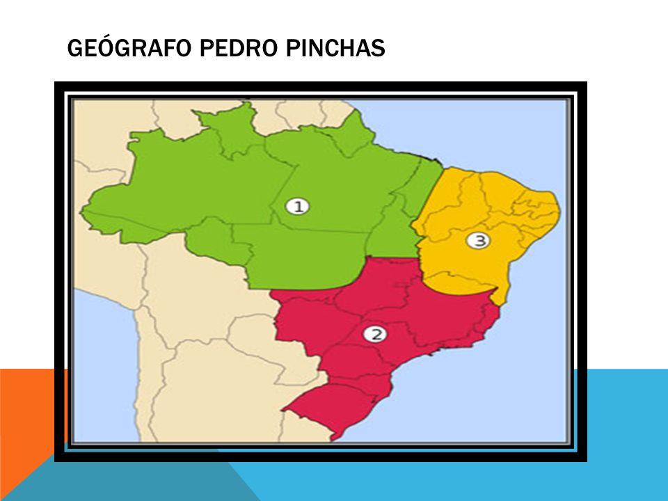 GEÓGRAFO PEDRO PINCHAS