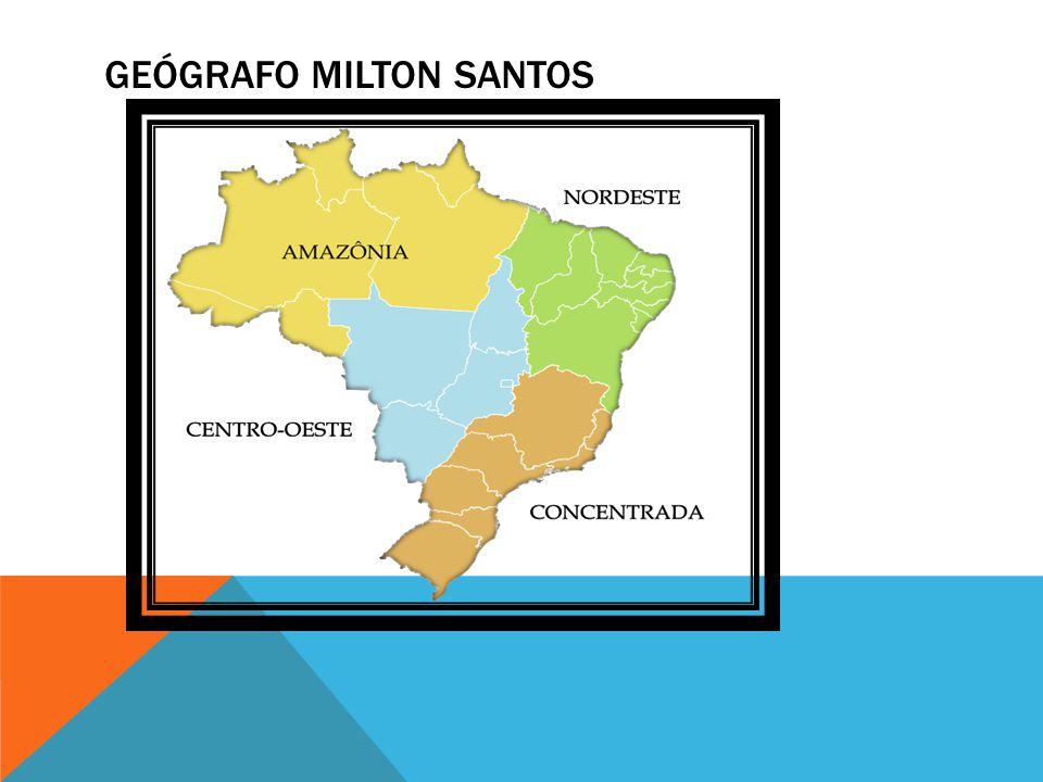 GEÓGRAFO MILTON SANTOS