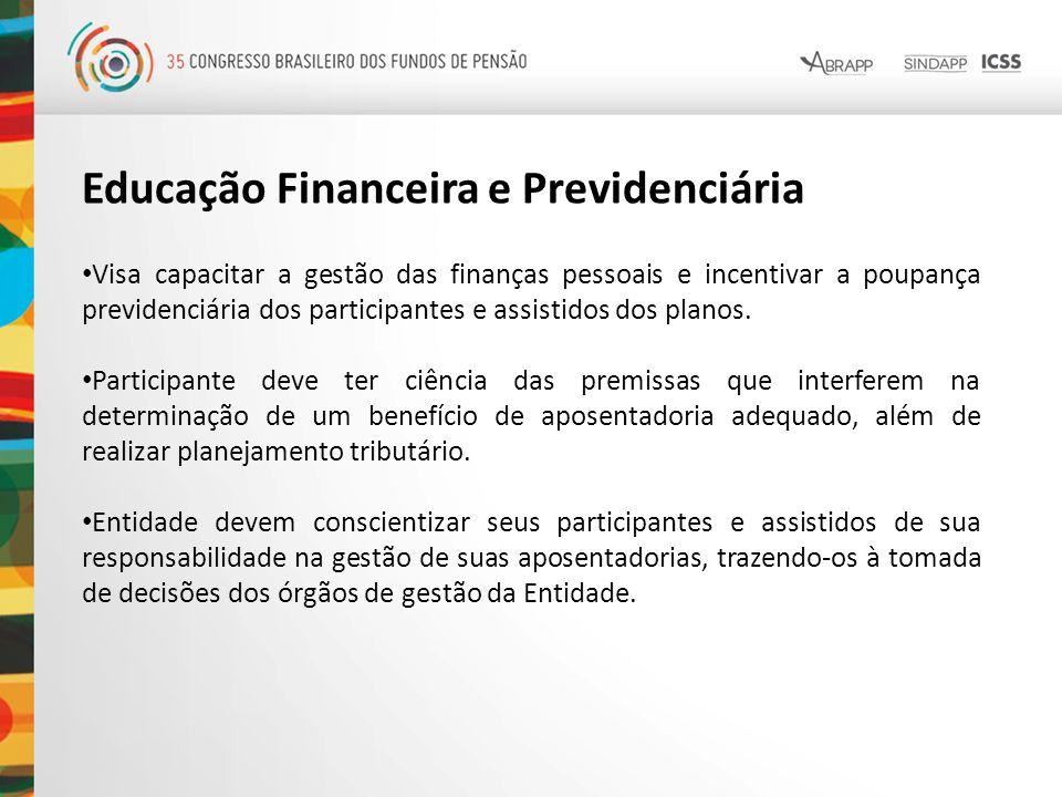 Educação Financeira e Previdenciária