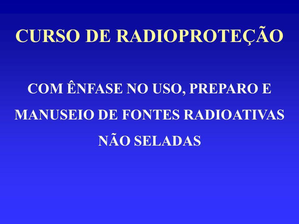 CURSO DE RADIOPROTEÇÃO