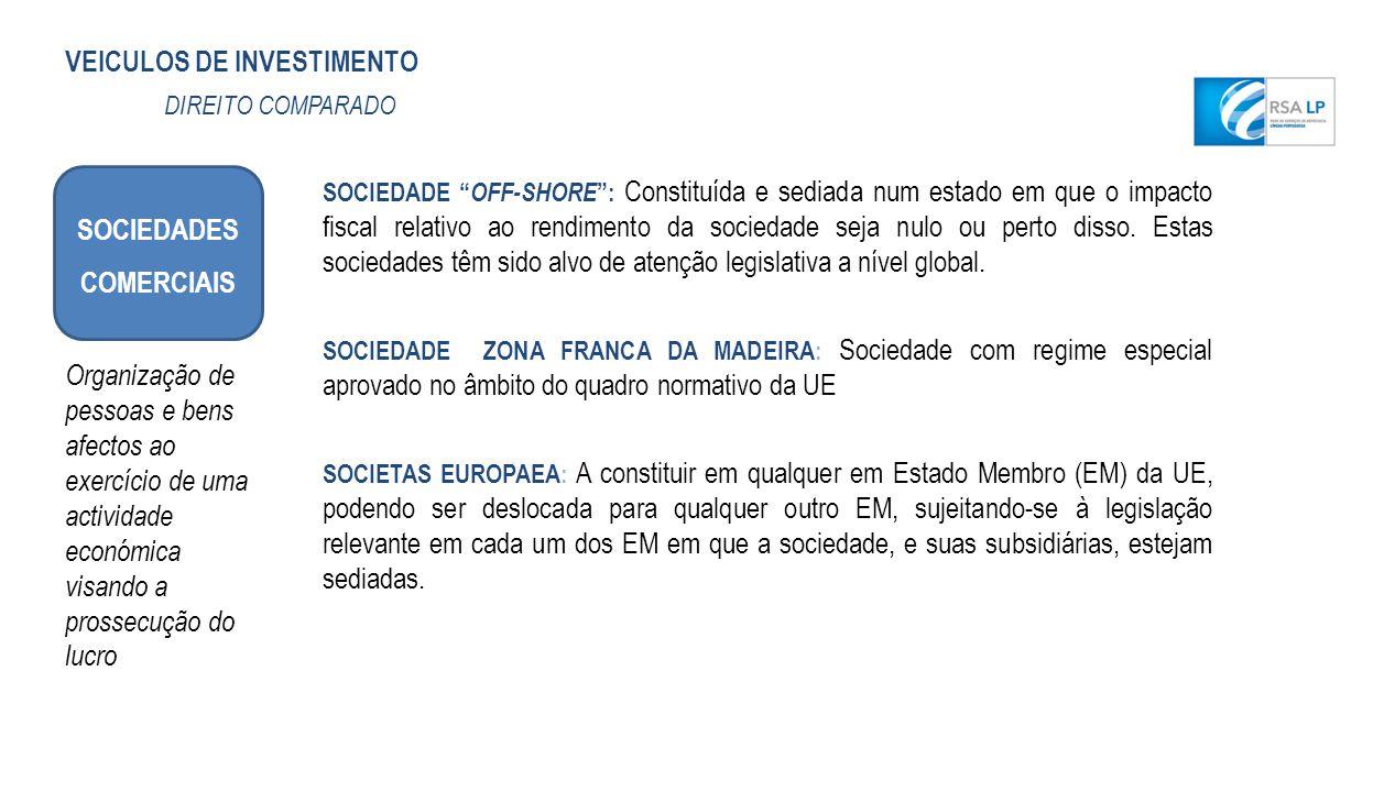 SOCIEDADES COMERCIAIS