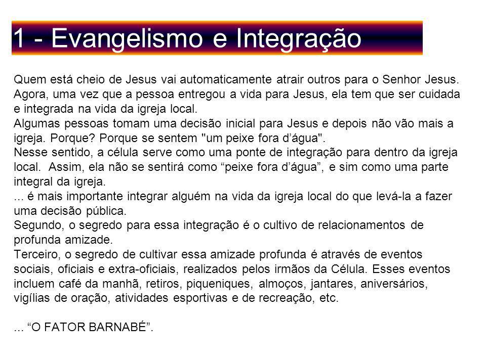 1 - Evangelismo e Integração