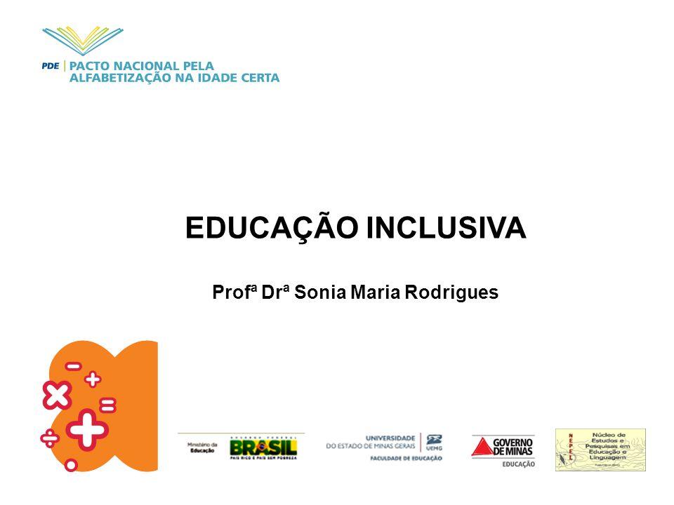 Profª Drª Sonia Maria Rodrigues